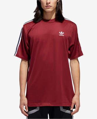 adidas Men Originals B-Side Printed-Back T-Shirt