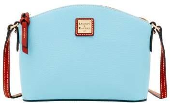 Dooney & Bourke Pebble Grain Ruby Crossbody Shoulder Bag - CARIBBEAN BLUE - STYLE