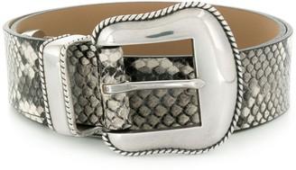 B-Low the Belt python-effect belt
