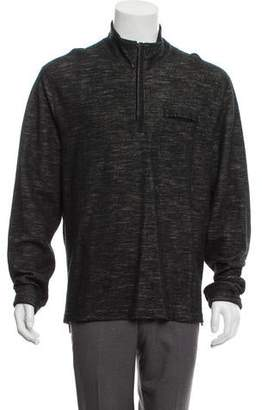 Todd Snyder Mélange Zip Sweater