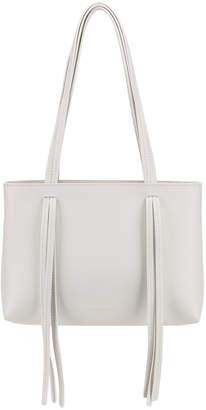 Mansur Gavriel Mini Fringe Bag in White | FWRD