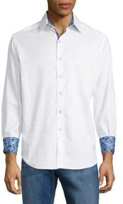 Robert Graham Rialto Cotton Button-Down Shirt