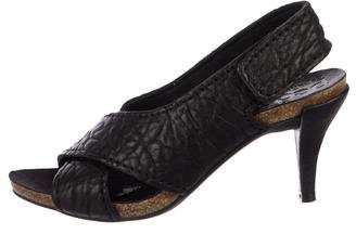 Pedro Garcia Leather Slingback Sandals