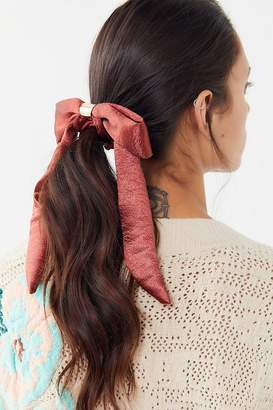Urban Outfitters Metal Bow Scrunchie