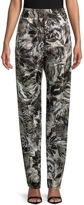 Roberto Cavalli Women's Floral-Print Stretch Pants