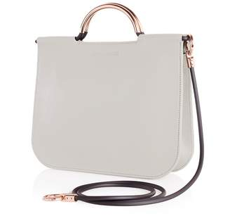 Arran Frances - Iona Pale Grey Crossbody Bag
