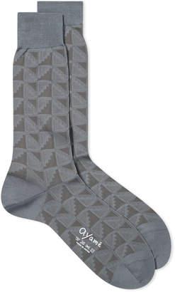 Ayame Socks Flag Solid Tonal Sock