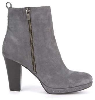 0fe862577f7 Mint Velvet Harper Grey Platform Boot