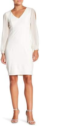 Marina Empire Waist Blousant Dress