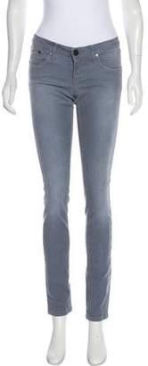 Victoria Beckham Mid-Rise Skinny Jeans