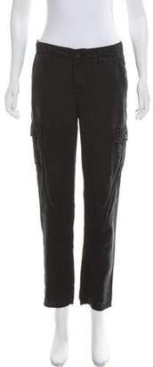 Adriano Goldschmied Cargo Mid-Rise Pants