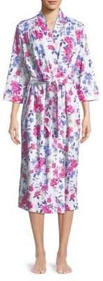 Karen Neuburger Floral Print Robe