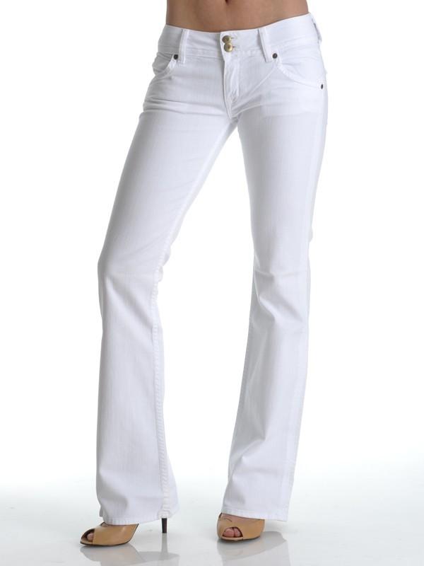 Hudson Signature Boot Cut Jean in White