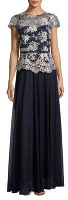 Decode 1.8 Embroidered Ankle-Length Dress