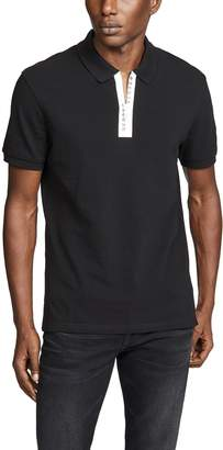 Versus Placket Logo Polo Shirt