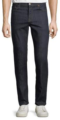 7 For All Mankind Men's Standard Comfort-Stretch Straight-Leg Jeans