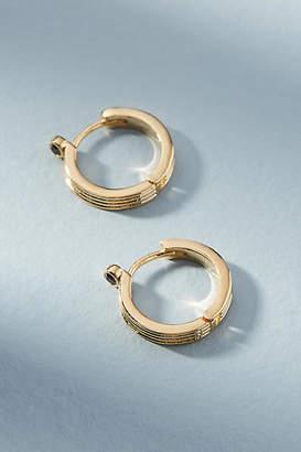 Anthropologie Isadora Hugger Hoop Earrings