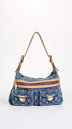 Louis Vuitton What Goes Around Comes Around Denim Baggy PM Bag