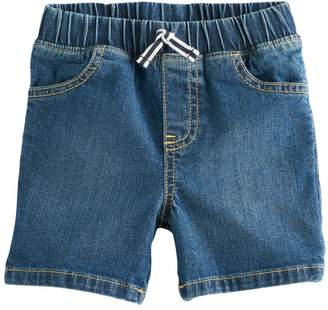 Toddler Boy Jumping Beans Pull On Denim Shorts