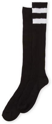 Steve Madden Two-Pack Stripe Knee High Socks