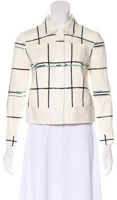 Tory Burch Long Sleeve Casual Jacket