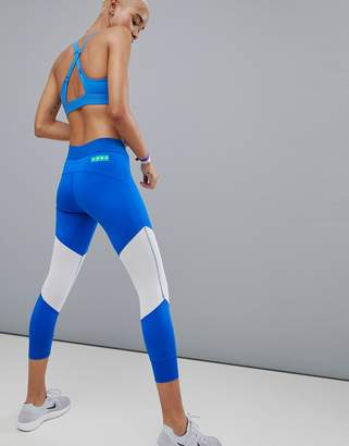 Asos 4505 training 7/8 legging with breathable mesh