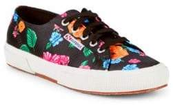 Superga Floral Low-Top Sneakers