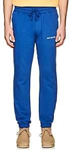Leon Aime Dore Men's Cotton French Terry Jogger Pants - Royal Blue