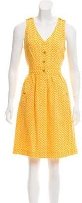 Tory Burch Button-Up Linen Dress