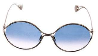 Gucci Circle Frame Sunglasses