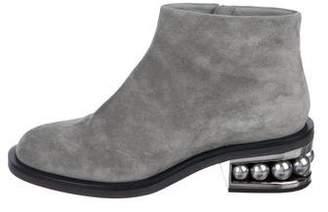 Nicholas Kirkwood Embellished Ankle Boots w/ Tags