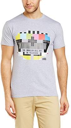 Brands In Limited Men's Test Card Crew Neck Short Sleeve T-Shirt