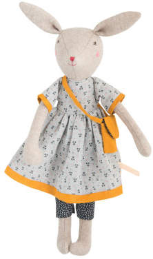 Moulin Roty Maman Rose Rabbit Doll 40cm
