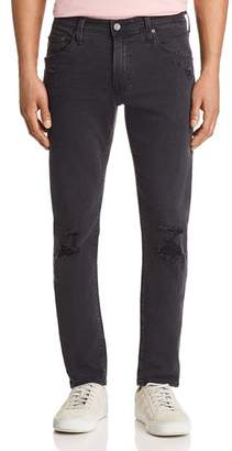 AG Jeans Tellis Slim Fit Jeans in 3 Years Black Ash