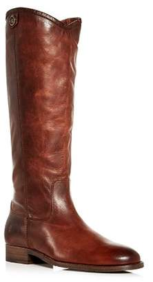 Frye Women's Melissa Button 2 Extended Calf Leather Tall Boots