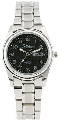 7d850805fd Bestjpshop 腕時計 アナログ時計 タオーツ カップル レディース メンズ オシャレ シルバー シンプルデザイン ローマ字