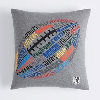 Pottery Barn Teen Sports League All Team NFL Pillow Cover, 18 x 18, NFL