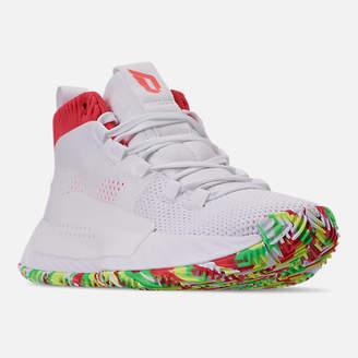 cheap for discount f01f1 08b68 adidas Boys Big Kids Dame 5 Basketball Shoes