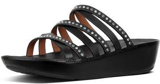 FitFlop Linny Pearl Stud Leather Slides