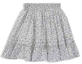 Ralph Lauren Girls' Floral Cotton Skirt - Little Kid
