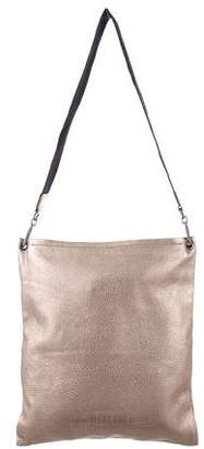 Brunello Cucinelli Metallic Messenger Bag