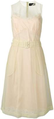 Simone Rocha belted waist dress