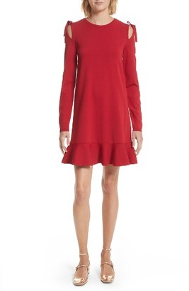 Women's Red Valentino Bow Knit Dress $650 thestylecure.com