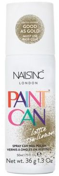 Nails inc Paint Can Good as Gold Spray/1.3 oz.