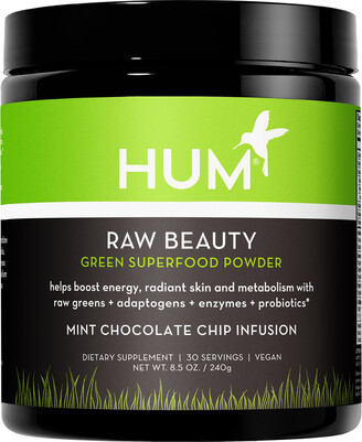 Hum Nutrition HUM Nutrition - Raw Beauty Skin & Energy Green Superfood Powder - Mint Chocolate Chip Infusion