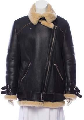 Acne Studios Velocite Shearling Jacket Black Velocite Shearling Jacket