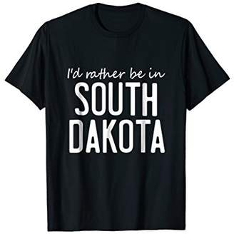 Dakota South Vintage Retro Souvenir Funny T-Shirt