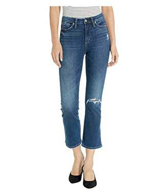 Silver Jeans Co. Women's Note High Rise Boot Crop