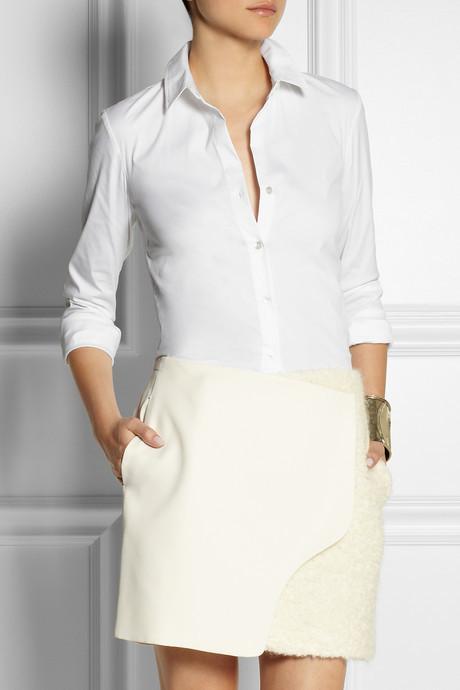 Theory Stretch-cotton shirt