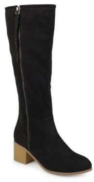 Journee Collection Sanora Wide Calf Boot